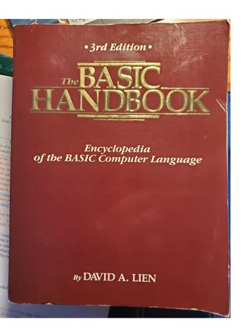 The BASIC Handbook cover